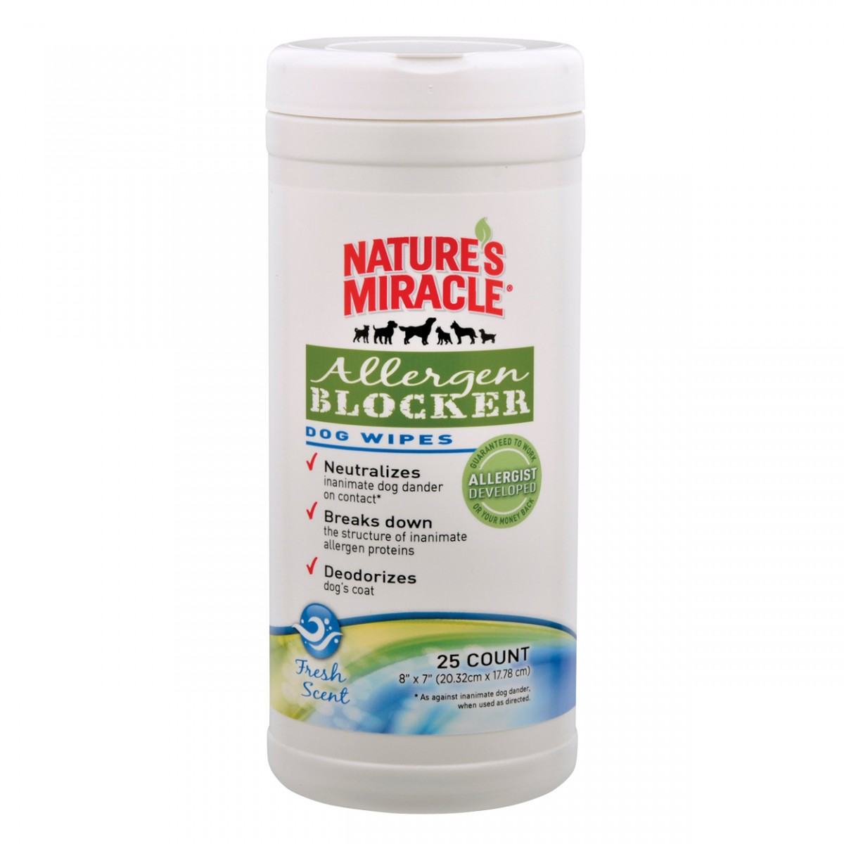 Nature S Miracle Allergen Blocker Dog Grooming