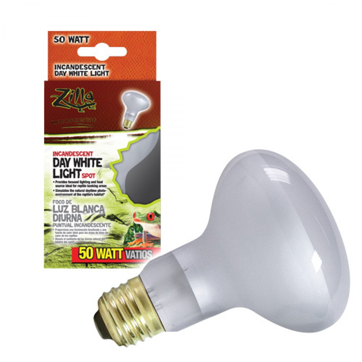 Zilla day white light incandescent spot lamps