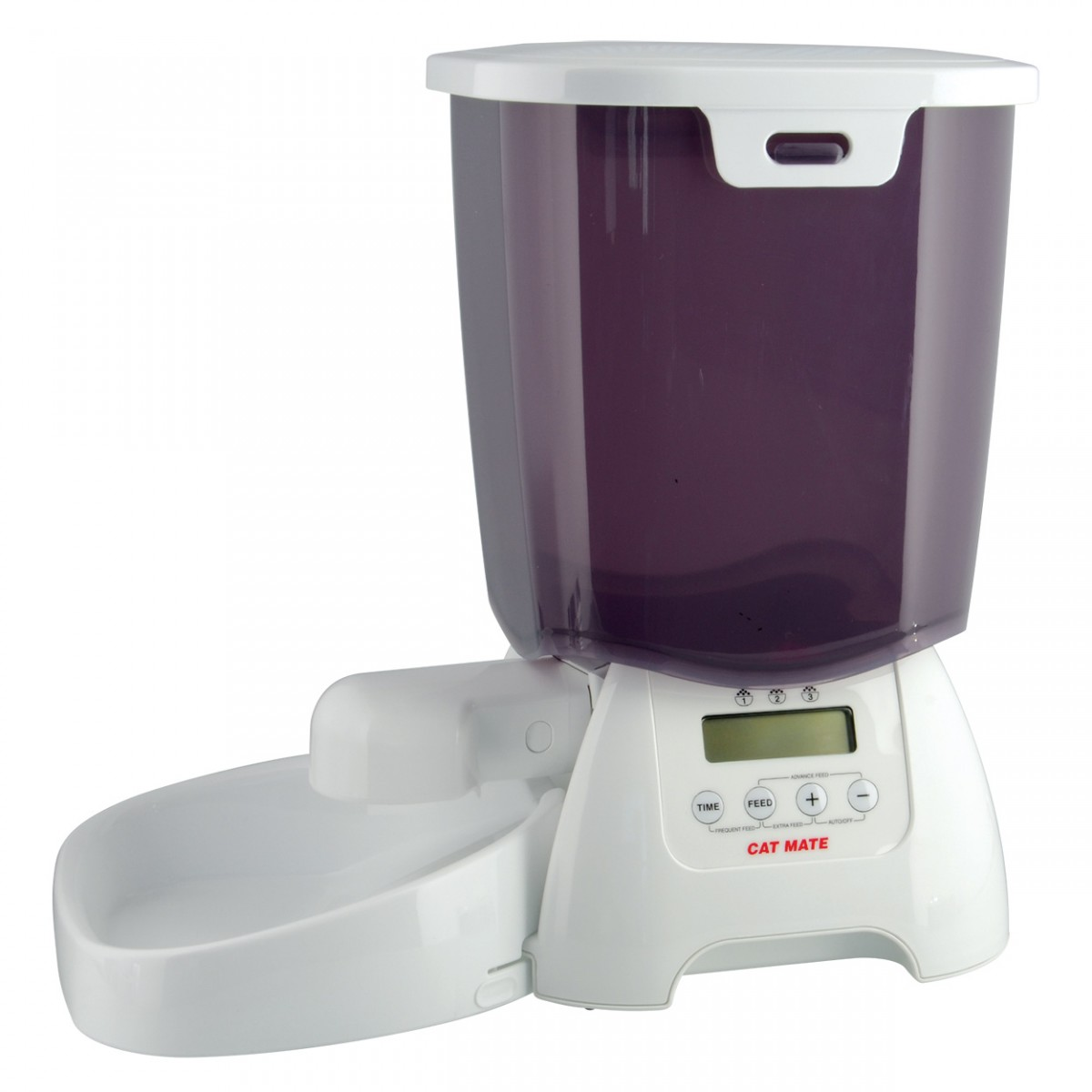 Automatic Cat Food Dispenser For Two Cats