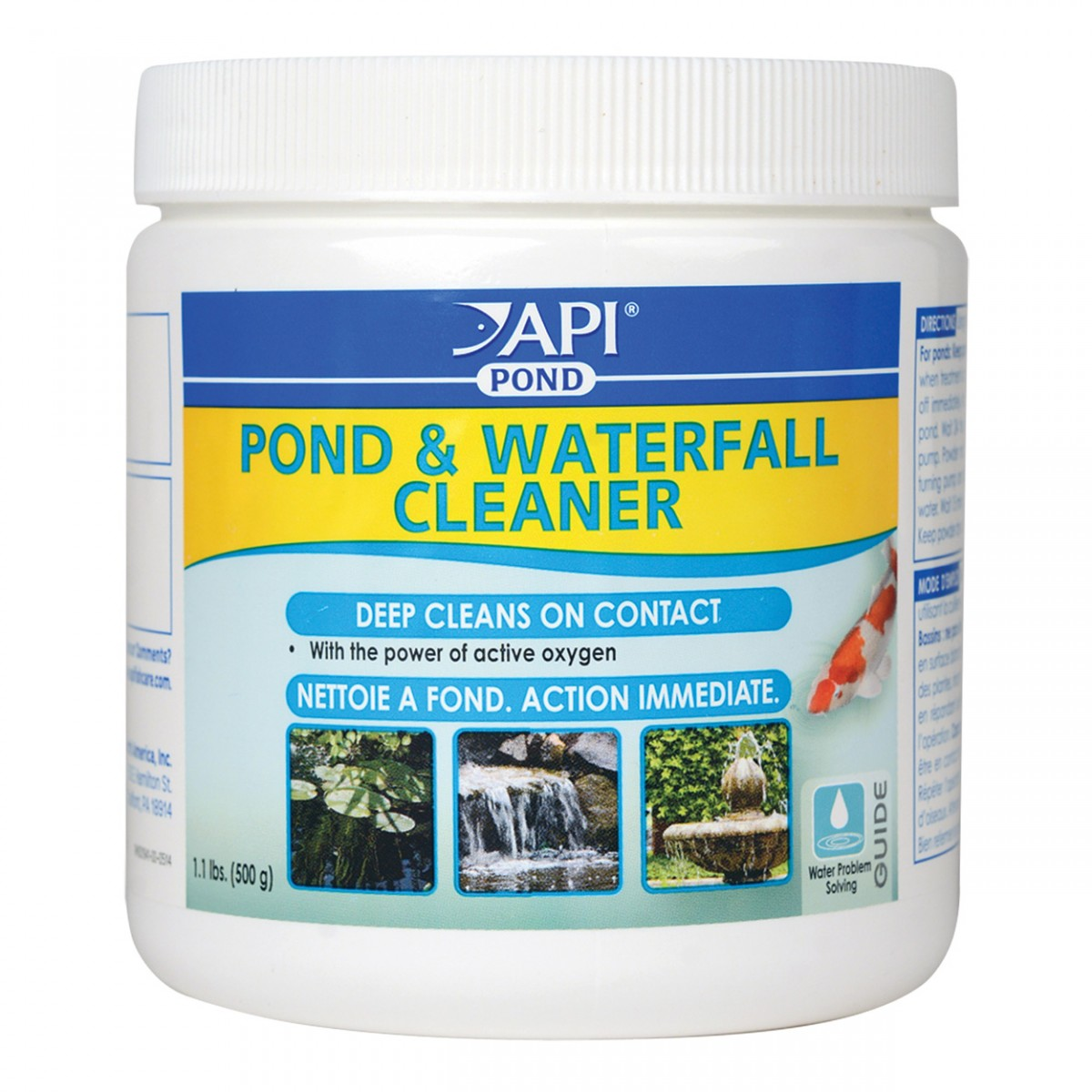 Pondcare pond waterfall cleaners for Pond cleaner