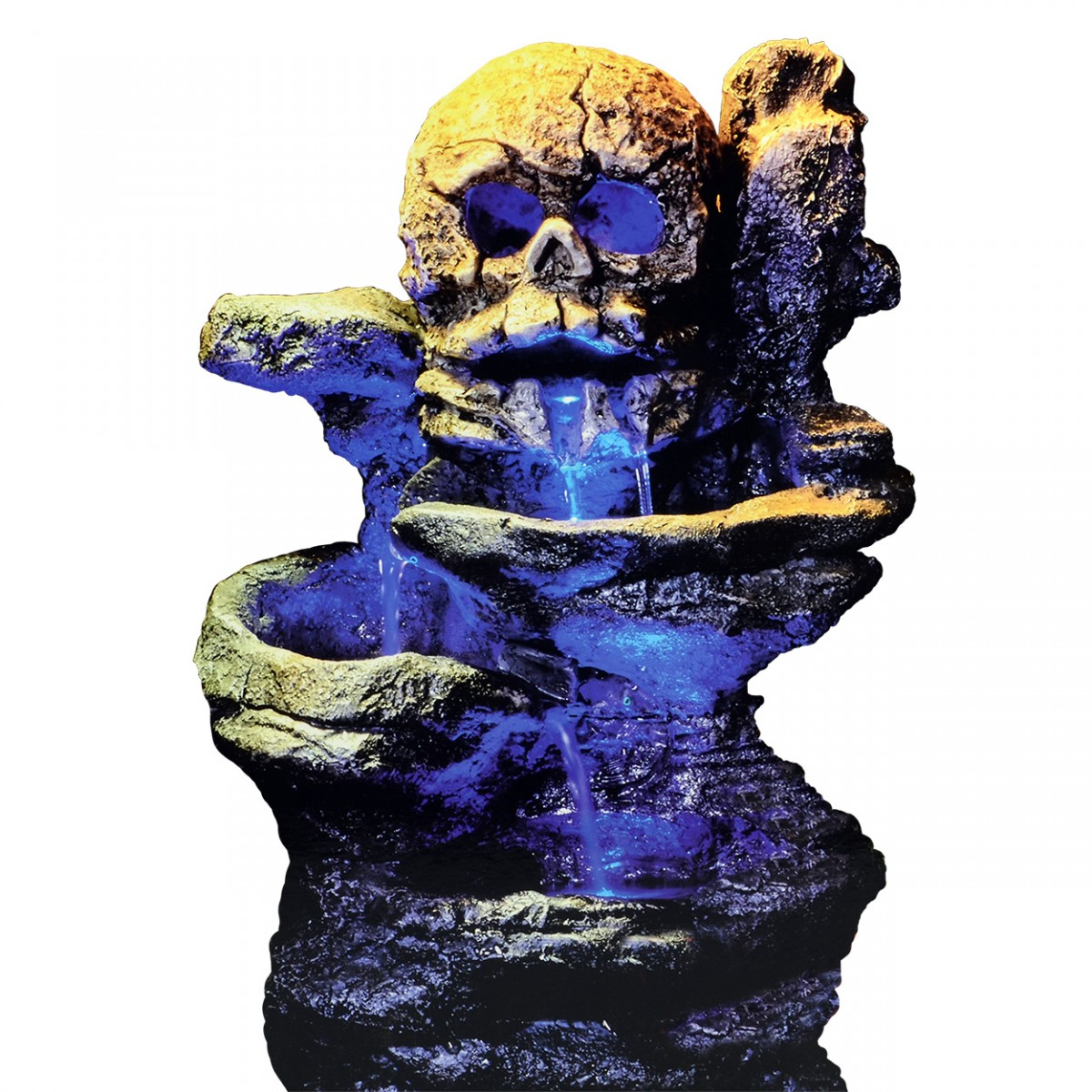 Zoo Med Repti Rapids Led Waterfall Skull Style Small