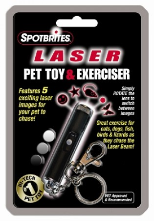 Ethical Products Pet Laser Classic 5-in-1 Pet Toy