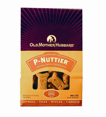 Old Mother Hubbard Classic Oven-Baked Dog Biscuits - P-Nuttier - Small - 20 oz