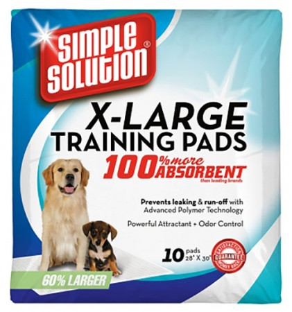 Simple Solution Training Pads - X-Large - 10 pk