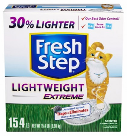 Fresh Step Lightweight Extreme Scoopable Cat Litter - Scented - 15.4 lb