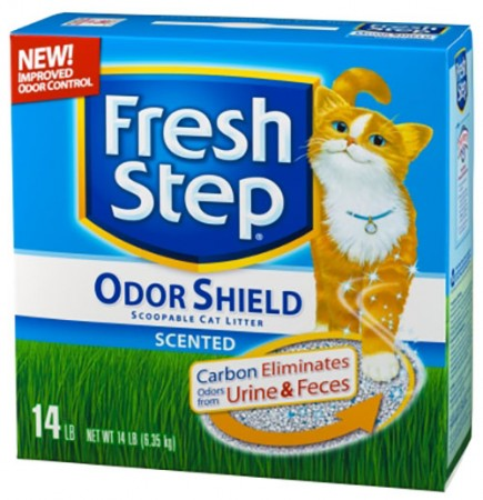 Fresh Step Scoopable Cat Litters