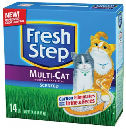 Fresh Step Multi-Cat Scoopable Cat Litters