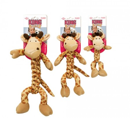 KONG Safari Braidz - Giraffe - Medium