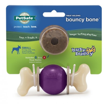 Pet Safe Pro Busy Buddy Bouncy Bone - Small