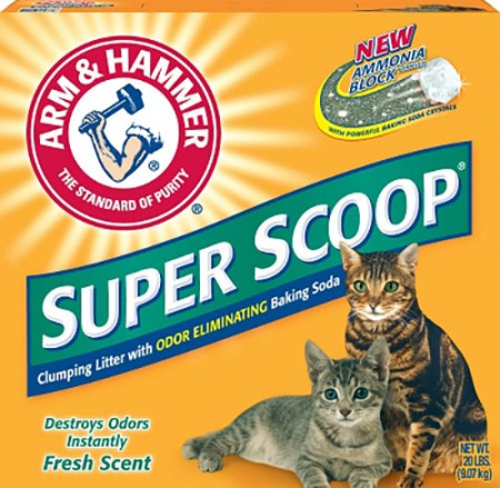 Arm & Hammer Super Scoop Cat Litters
