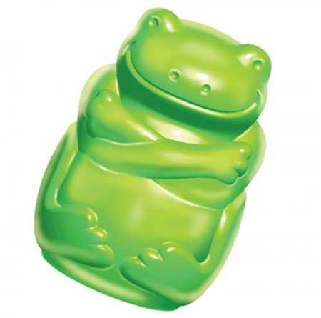KONG Squeezz Jel - Frog - Large