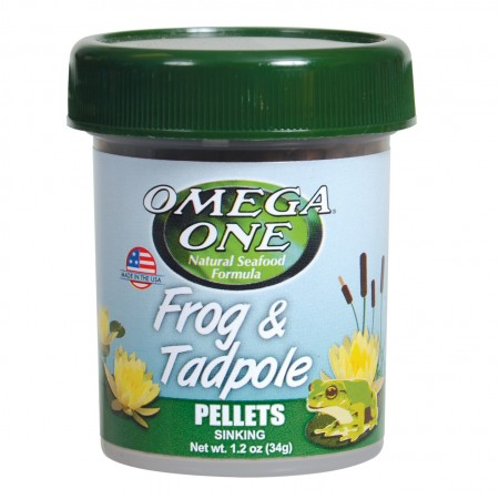 Omega One Frog & Tadpole Pellets - 1.2 oz