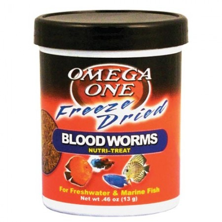 Omega One Freeze-Dried Bloodworms Nutri-Treat