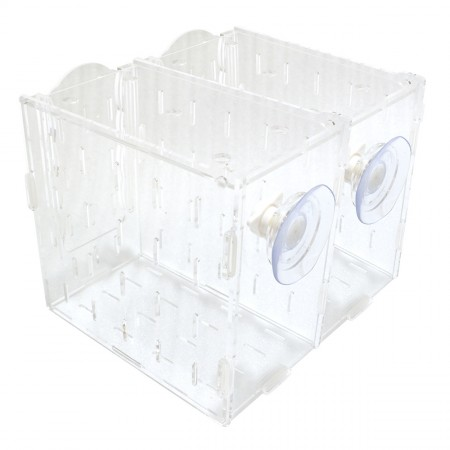 "Wavereef Acclimation Tank - 2 Compartments - 8"" x 7"" x 6"""