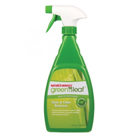 Nature's Miracle Green Leaf Stain & Odor Remover - Unscented - 24 fl oz