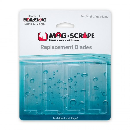 Gulfstream Tropical Replacement Acrylic Scraper Blades - Large/Large+ - 4 pk