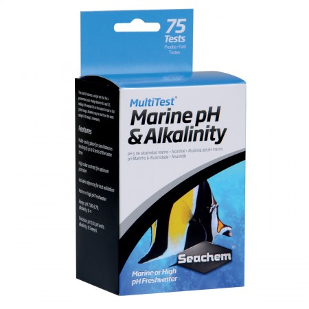 Seachem MultiTest - Marine pH/Alkalinity - 75 Tests