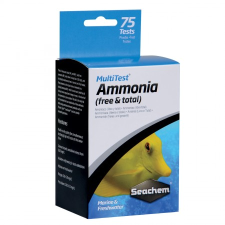 Seachem MultiTest - Ammonia - 75 Tests