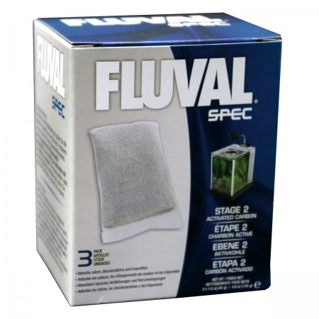 Fluval Activated Carbon Insert for Fluval SPEC Aquariums - 3 pk