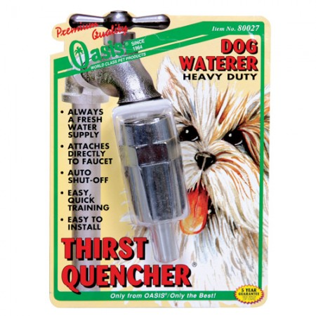 Oasis Thirst-Quencher Heavy Duty Dog Waterer