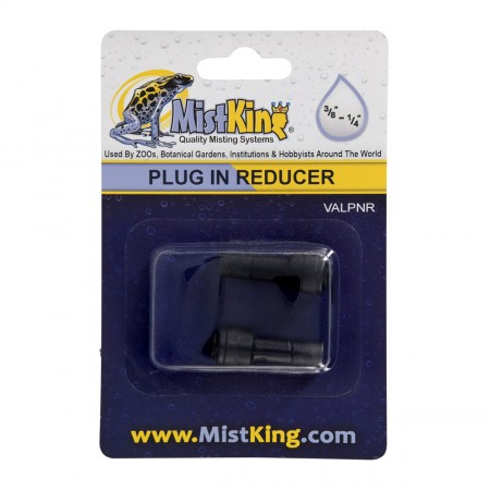"""MistKing Plug In Reducer for Misting Systems - 3/8"""" to 1/4"""" - 2 pk"""