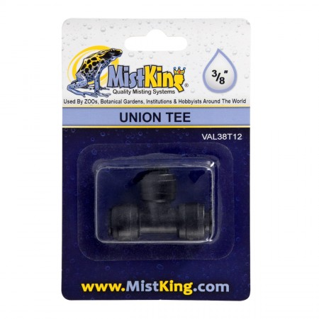 MistKing Union Tee Connector for Misting Systems - 3/8""