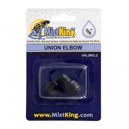 MistKing Elbow Connector for Misting Systems - 3/8""