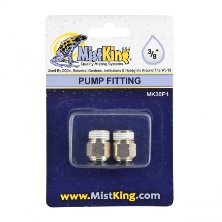 """MistKing Pump Fitting for Misting Systems - 3/8"""""""