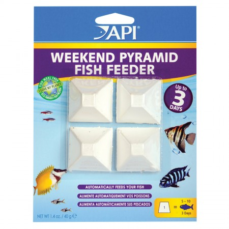 API Pyramid Fish Feeders