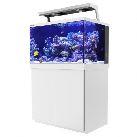 Red Sea MAX S-400 REEF-SPEC Aquarium System with Stand - Pearl White - 110 gal