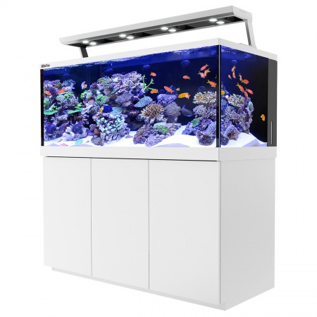 Red Sea MAX S-650 REEF-SPEC Aquarium System with Stand - Pearl White - 175 gal