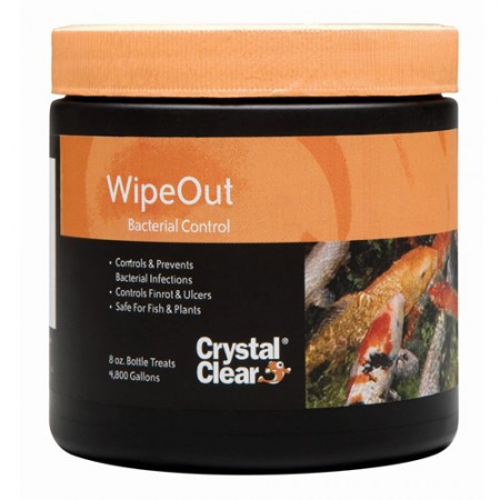 CrystalClear Wipeout Bacterial Control - 8 oz