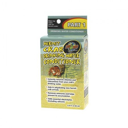 Zoo Med Hermit Crab Drinking Water Conditioner - 2.25 fl oz