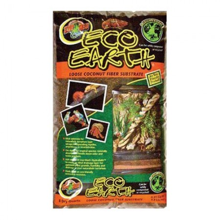 Zoo Med Eco-Earth Loose Coconut Fiber Substrate