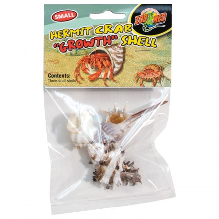 """Zoo Med Hermit Crab """"Growth"""" Shells"""