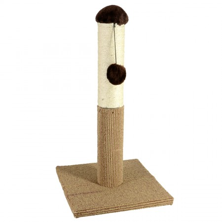 Four Paws Super Catnip Carpet and Sisal Scratching Post - 21""