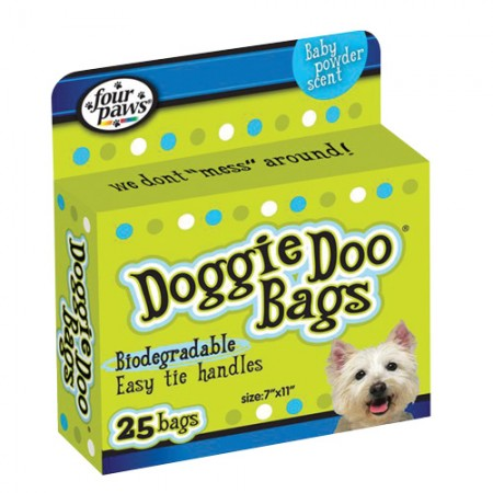 Four Paws Doggie Doo Biodegradable Bags