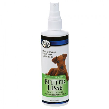 Four Paws Bitter Lime Protective & Taste Deterrent Spray - 8 fl oz