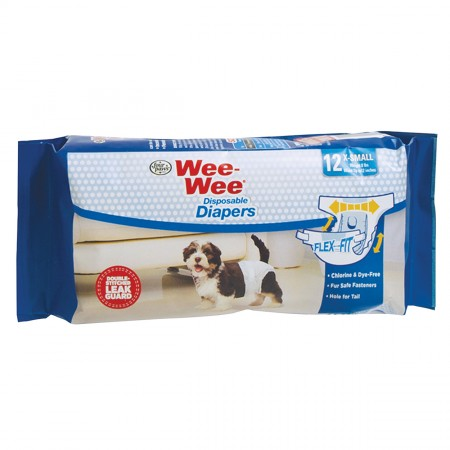 Four Paws Wee-Wee Disposable Diapers