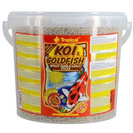 Tropical Koi & Goldfish Wheat Germ & Garlic Sticks
