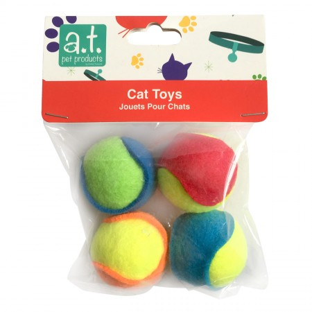 Animal Treasures Sport Ball - 4 pk