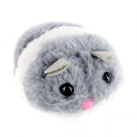 Animal Treasures Fat Furry Vibrating Mouse