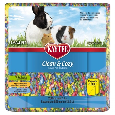 Kaytee Clean and Cozy Small Pet Bedding - 250 cu in - Birthday Cake