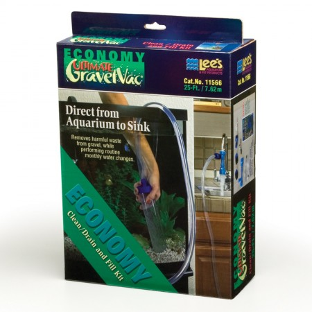 Lee's Economy Ultimate GravelVac Kit - 25 ft