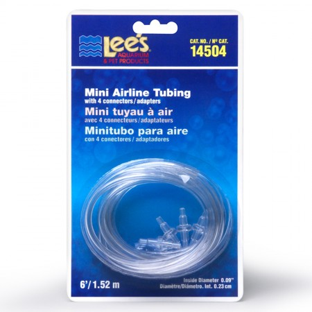 Lee's Mini Airline Tubing - 6 ft