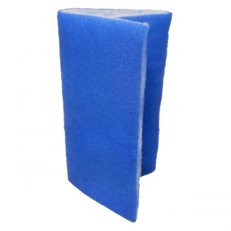"Seapora Blue Bonded Filter Pad - 24"" x 15"""