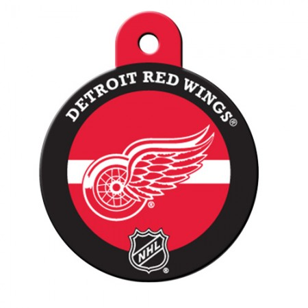 PetScribe I.D. Tag - NHL Detroit Red Wings - Large Circular