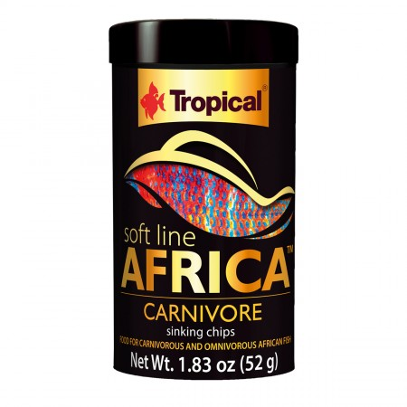 Tropical Soft Line Africa Carnivore Sinking Chips