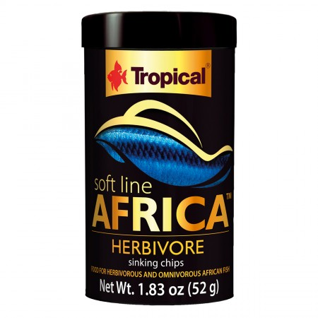 Tropical Soft Line Africa Herbivore Sinking Chips
