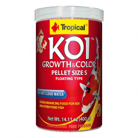 Tropical Koi Growth & Color Pellets